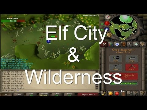 Runescape Elf City Design Documents