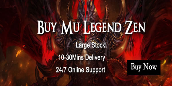 12135 U4GM Is Chosen As A Trustworthy MU Legend Zen Shop By Players